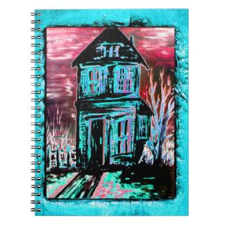 招待状の家 ノートブック