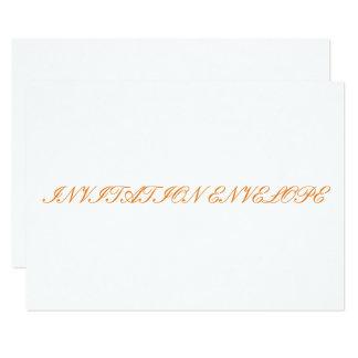 招待状の封筒 カード