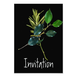 招待状の料理のパーティ カード