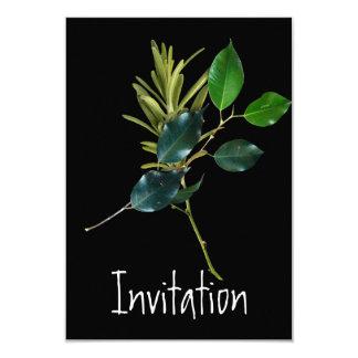 招待状の料理のパーティ 8.9 X 12.7 インビテーションカード