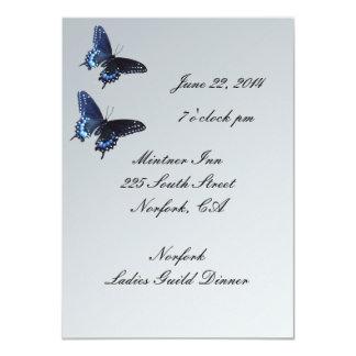 招待状の~の夕食の~クラブ カード