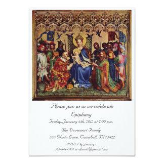 招待状: 内部の行脚 カード