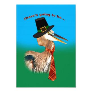 招待状、感謝祭 12.7 X 17.8 インビテーションカード