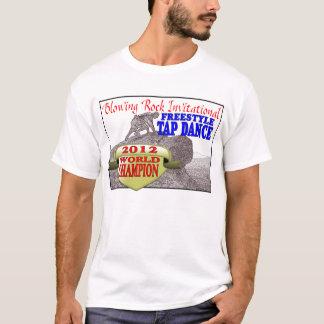 招待石を吹きます Tシャツ