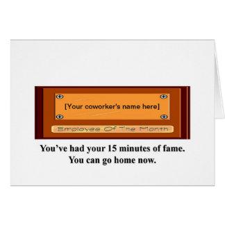 -持あなたの15分の名声でき行家を有します カード