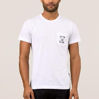 持ち上げられた文化ロゴ Tシャツ