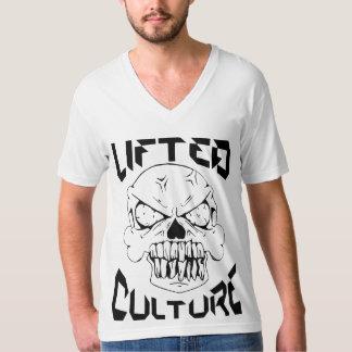持ち上げられた文化 Tシャツ