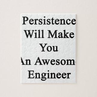 持続は素晴らしいエンジニアを作ります ジグソーパズル