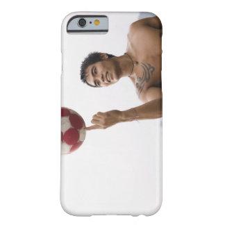 指の人の回転のフットボール BARELY THERE iPhone 6 ケース