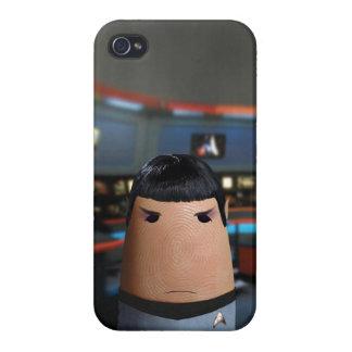 指の宇宙 iPhone 4 ケース
