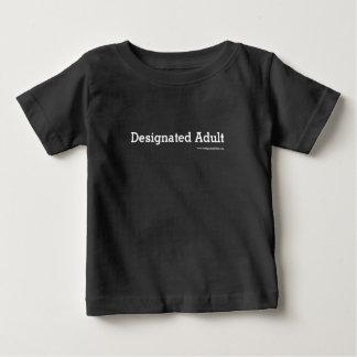 指名大人-大きさで分類されるベビー ベビーTシャツ