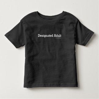 指名大人-大きさで分類される幼児 トドラーTシャツ