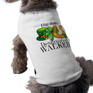 指名歩行者のセントパトリックの日の小犬 ペット服