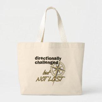 指向的に挑戦されたバッグ ラージトートバッグ