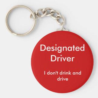 指定ドライバー、私は飲まないし、運転しません キーホルダー