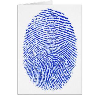 指紋 カード