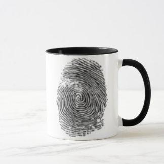 指紋 マグカップ