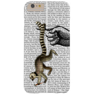 指2のリングによって後につかれるLemur Barely There iPhone 6 Plus ケース
