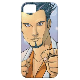 指-あなたで指す男性モデル--を指します iPhone SE/5/5s ケース