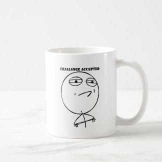 挑戦によって受け入れられるギア コーヒーマグカップ