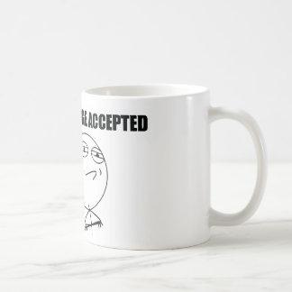 挑戦によって受け入れられるマグ コーヒーマグカップ