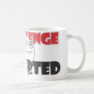 挑戦によって受け入れられるマグ! コーヒーマグカップ