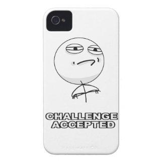 挑戦によって受け入れられるiPhone 4のミームの場合 Case-Mate iPhone 4 ケース