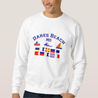 挑戦のビーチMDのシグナルフラグ スウェットシャツ