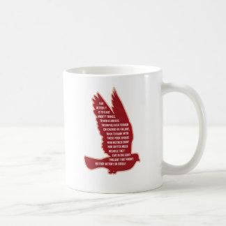 挑戦の強大な事 コーヒーマグカップ