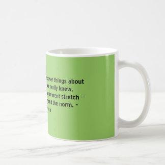 挑戦は…あなたのについての事を発見させます コーヒーマグカップ