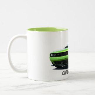 挑戦者のコーヒー・マグ#1 ツートーンマグカップ