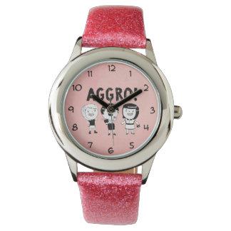挑発の女の子 腕時計