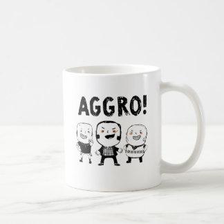 挑発の男の子は恐れていません! コーヒーマグカップ