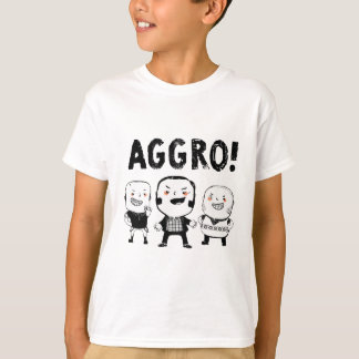 挑発の男の子は恐れていません! Tシャツ