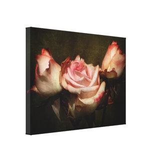 挨りだらけのバラの伸張のキャンバスのプリント キャンバスプリント