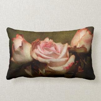 挨りだらけのバラのLumbarの枕 ランバークッション