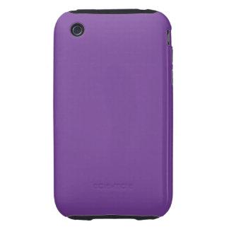 挨りだらけの紫色色 iPhone 3 TOUGH ケース