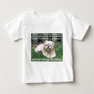 挨りだらけ-子犬の製造所の生存者 ベビーTシャツ