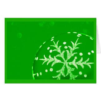 挨拶のカード休日の芸術クリスマス120 ノートカード