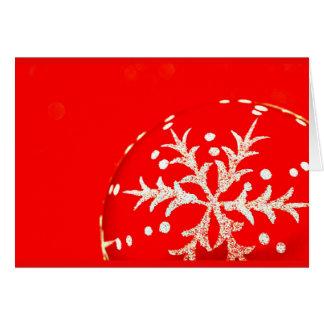 挨拶のカード休日の芸術クリスマス123 ノートカード