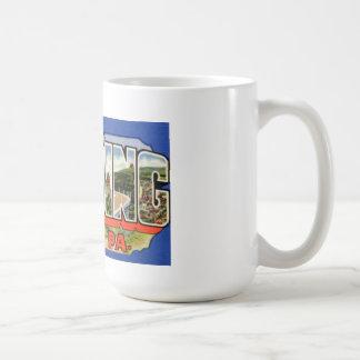 挨拶のマグ コーヒーマグカップ