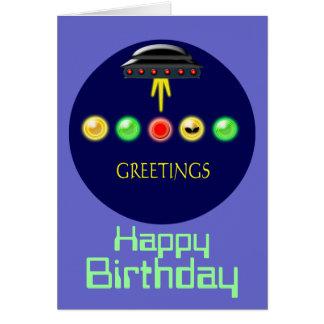 挨拶の誕生日 カード