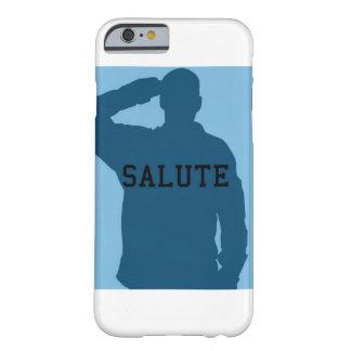 挨拶の軍隊は包装します BARELY THERE iPhone 6 ケース