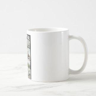 挨拶のHaverhillマサチューセッツの1910年のヴィンテージ コーヒーマグカップ