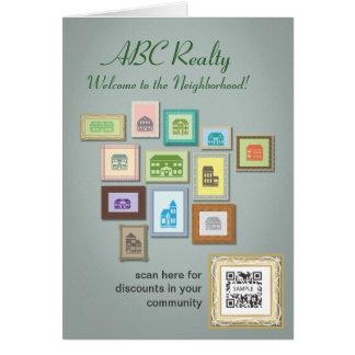 挨拶状のテンプレートABCの不動産 カード
