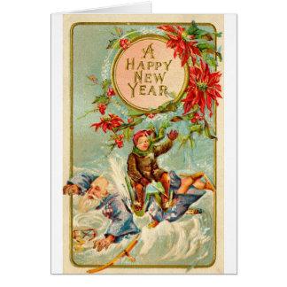 挨拶状新年の カード