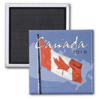 振るカナダの旗の冷蔵庫用マグネットの変更年 マグネット