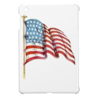 振る米国旗 iPad MINI カバー
