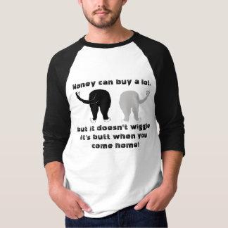 振れのお尻は人をかわいがります Tシャツ