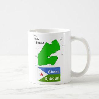 振動ジブチ コーヒーマグカップ